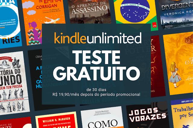 Kindle Unlimited Livros Grátis