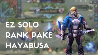 Build Hayabusa Tersakit Sebagai Ninja yang Mematikan