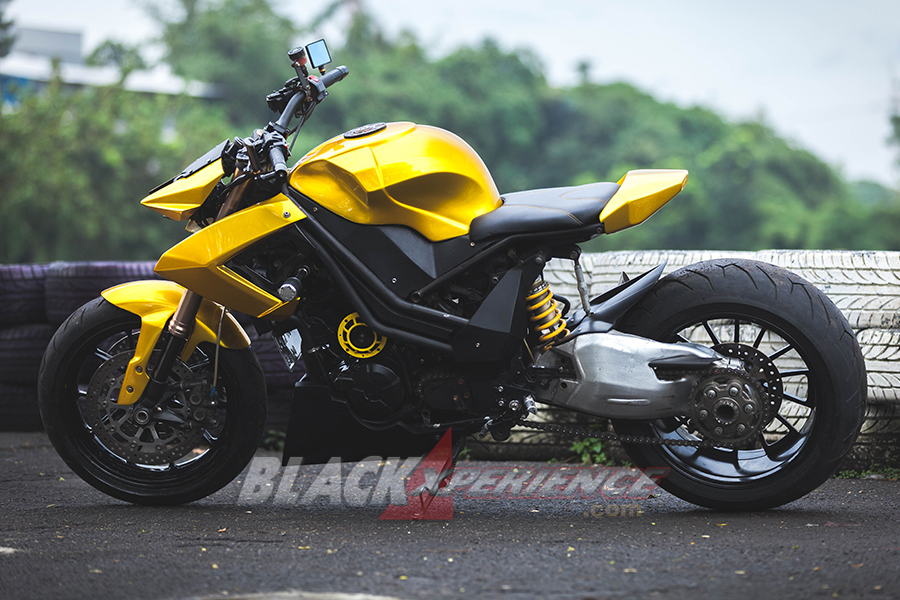 Modifikasi Ninja Z250