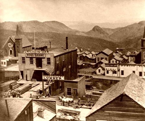 The Silver Queen Hotel In Virginia City Nevada Is Said To Be One Of Most Haunted Places When You Spend Night It