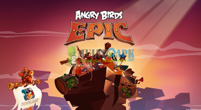 Game Angry Birds Epic Terbaru Versi 1.4.5 Apk+Data Mod Unlimited Money Android