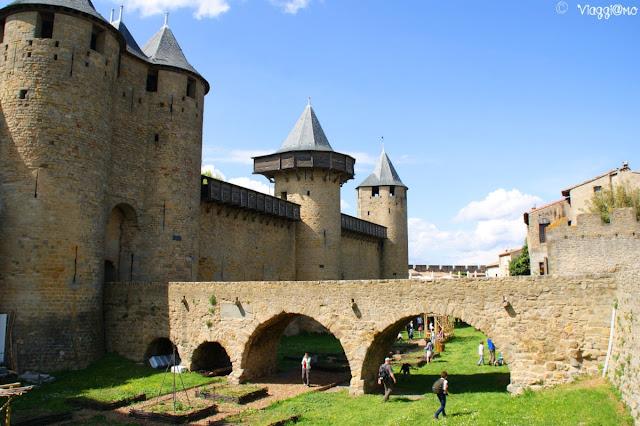 Esterno del Castello Comtal di Carcassonne