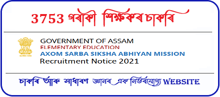 SSA Assam Final Merit List for Recruitment of LP UP Teacher 2021