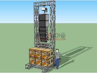 Ukuran Rigging Sound System 5 meter