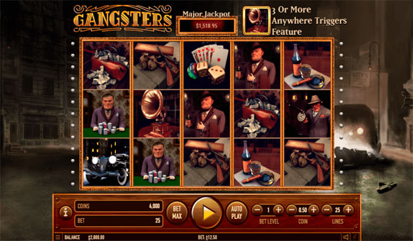 Main Gratis Slot Indonesia - Gangsters Habanero