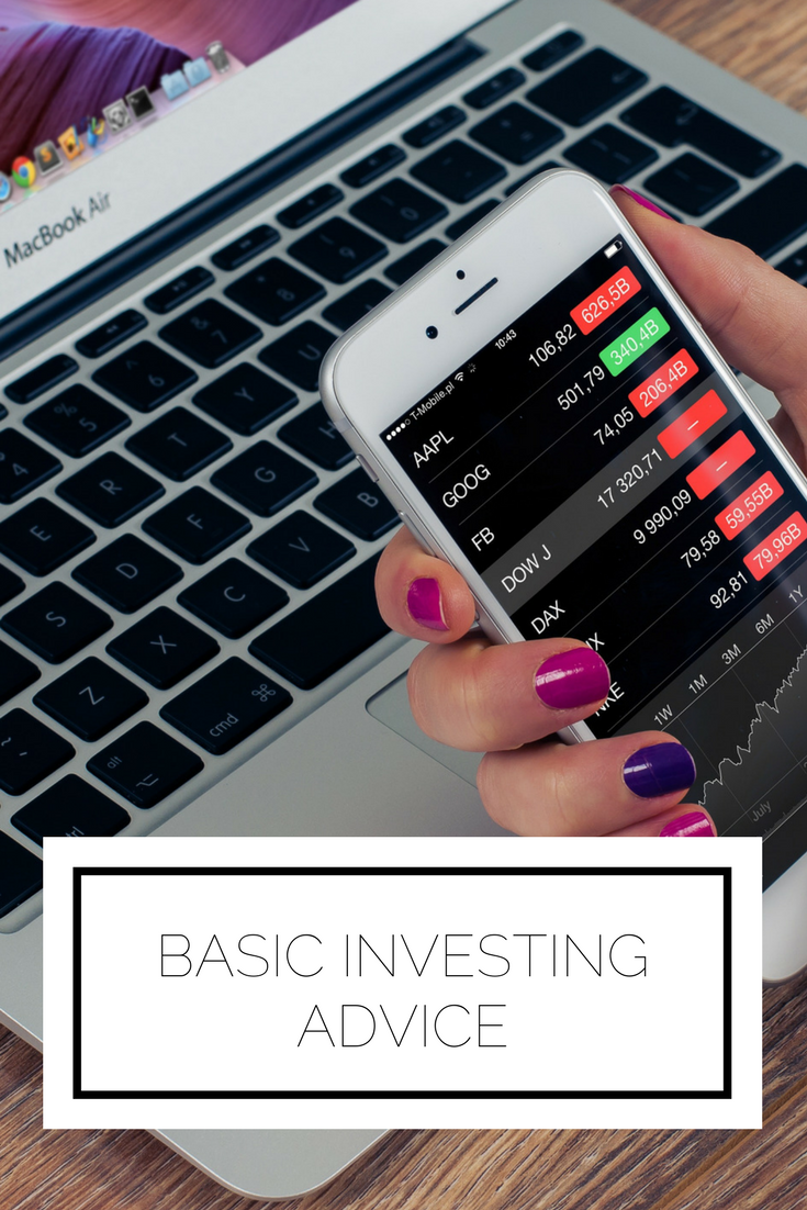Click to read now or pin to save for later! Considering investing? Here are some basic tips to examine your mindset and make a game plan
