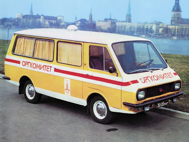 RAF 2908 Olympic games 1980 USSR