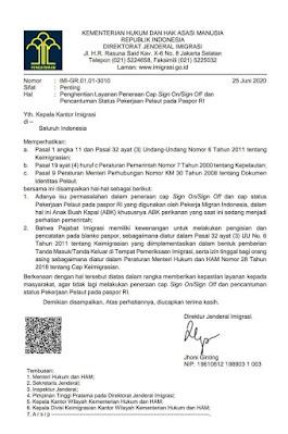 Surat Edaran No : IMI-GR.01.01-3010
