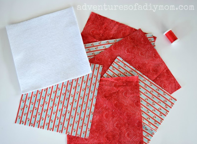 Supplies for Easy Fabric Hot Pad