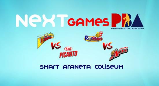 List of PBA Games: February 23 at Smart Araneta Coliseum 2017-2018 PBA Philippine Cup