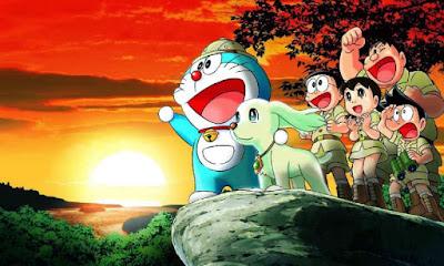 Doraemon dan nobita wallpaper