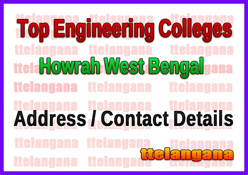 Top Engineering Colleges in Howrah West Bengal