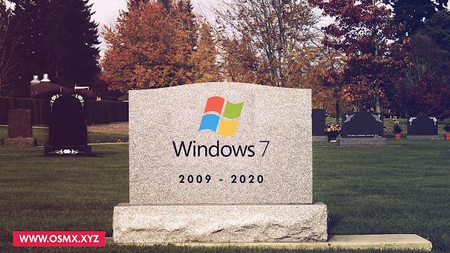 لو مازلت تستخدم يندوز 7 يجب عليك تغييره فورا - RIP Windows 7