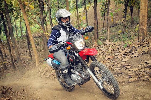test ride klx 230