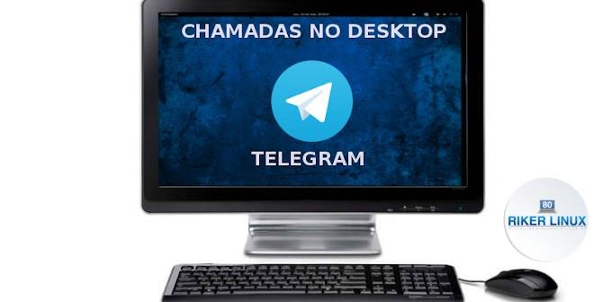 TELEGRAM HABILITA CHAMADAS DE VOZ PARA COMPUTADORES