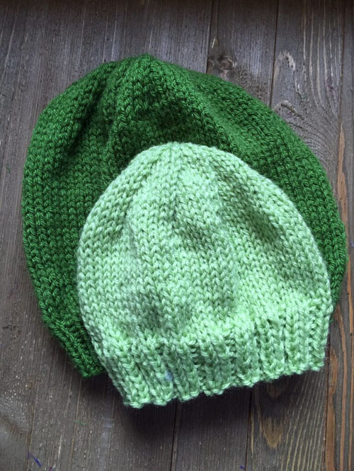 Basic knit Hat for Child or Adult - Free Pattern
