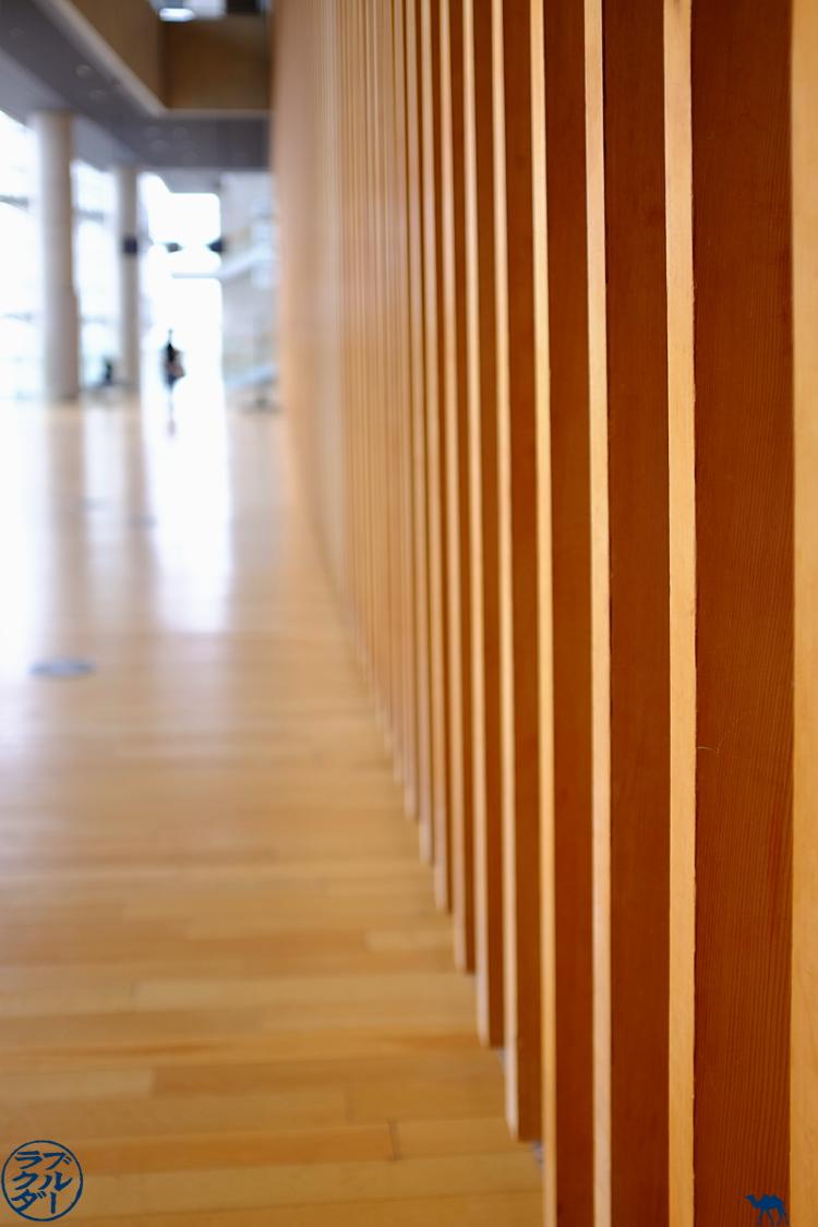Le Chameau Bleu - Tokyo - Japon Architecture du Centre national d'Art à Roppongi