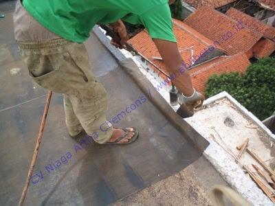 Pekerjaan Waterproofing Membrane Bakar