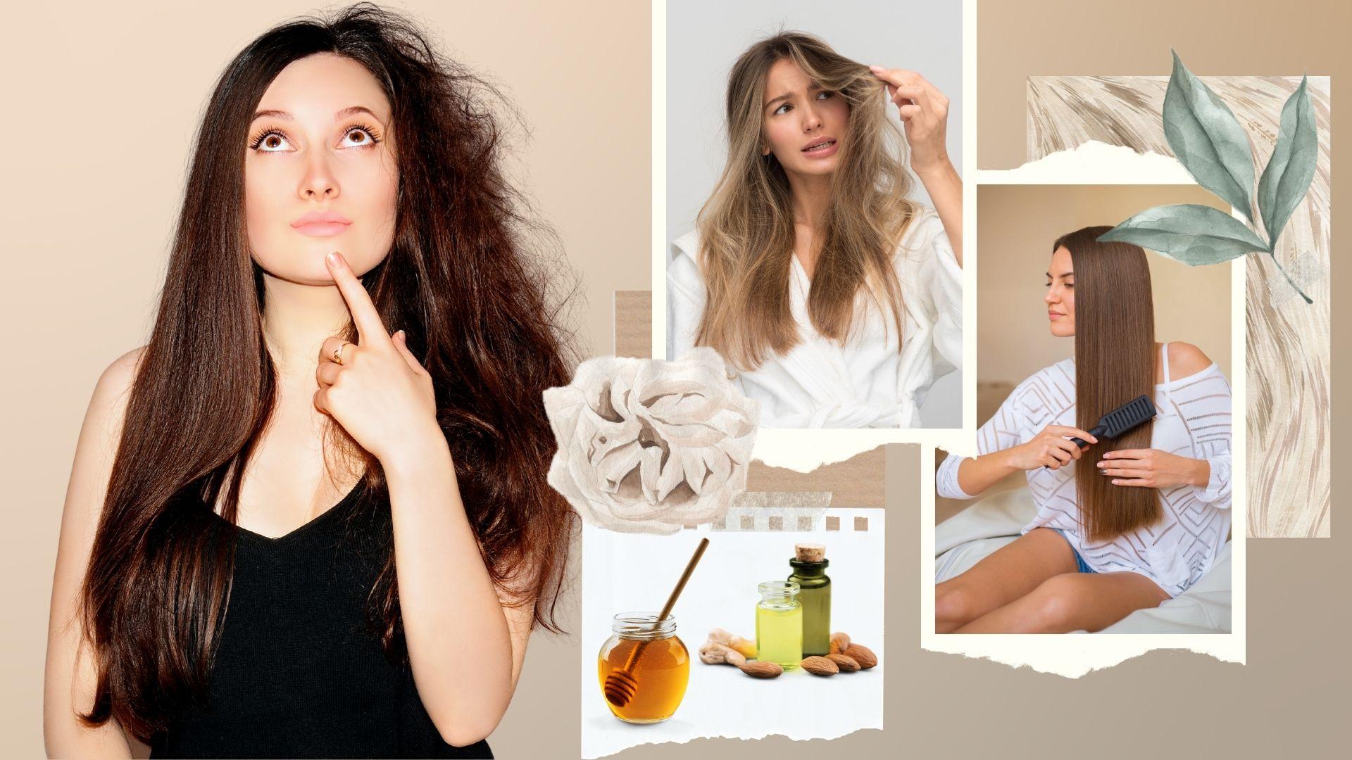 Doma el pelo encrespado en 7 simples pasos