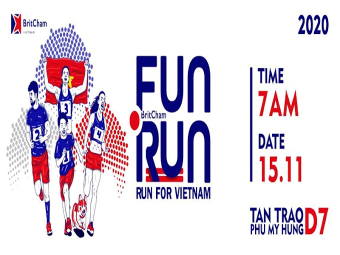 BritCham Fun Run 2020: RUN FOR VIETNAM