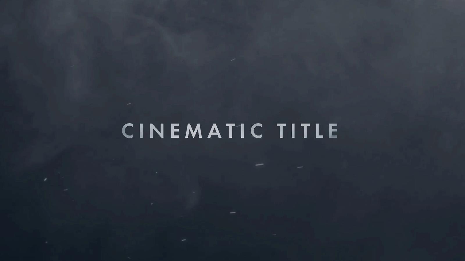 make horror film trailer title