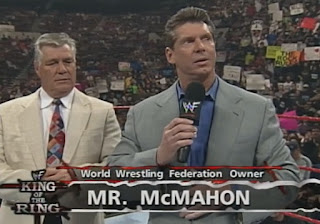 WWE / WWF King of the Ring 1998: Vince McMahon with Pat Patterson