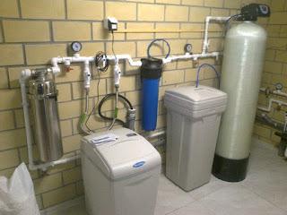 Családi ház víztisztító berendezés