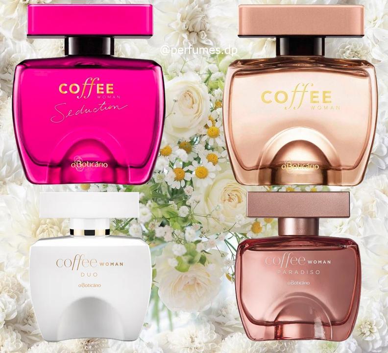 Perfumes Colônia Coffee Boticário