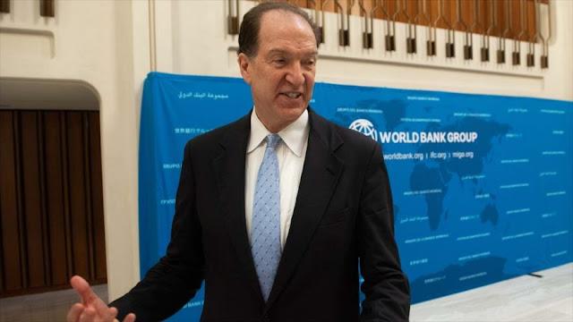 Banco mundial advierte del aumento de deuda de países en desarrollo