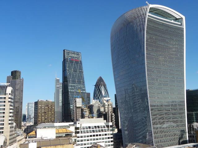 skyscrapers of London