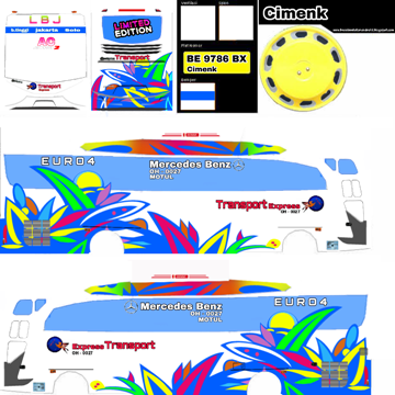 livery bussid transport express hd