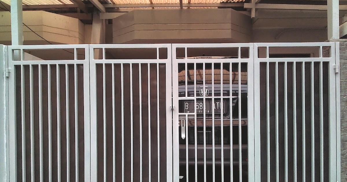 Pagar Rumah Minimalis Stenlis  ide penting 25 desain pagar lipat minimalis
