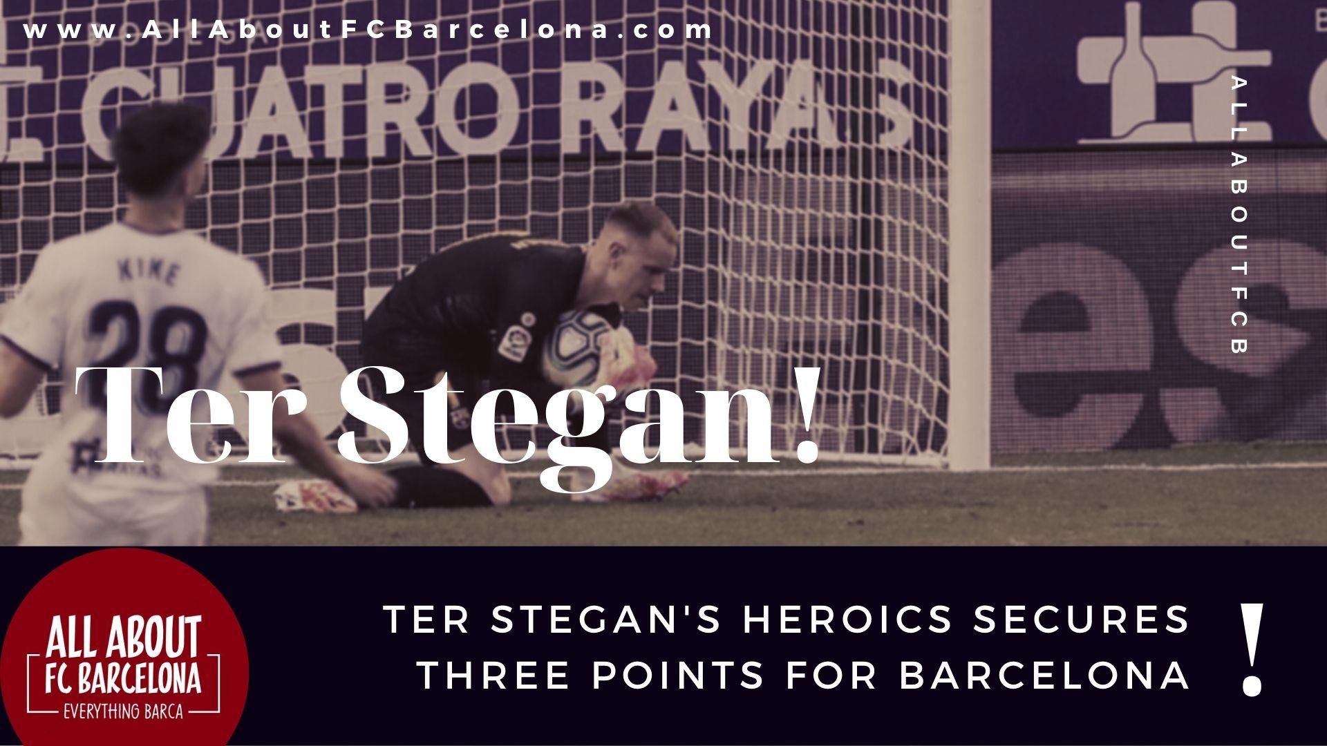 Ter Stegan was instrumental for Barcelona against Real Valladolid