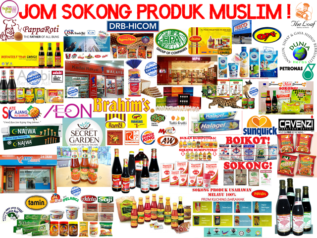 Kempen beli barangan Muslim