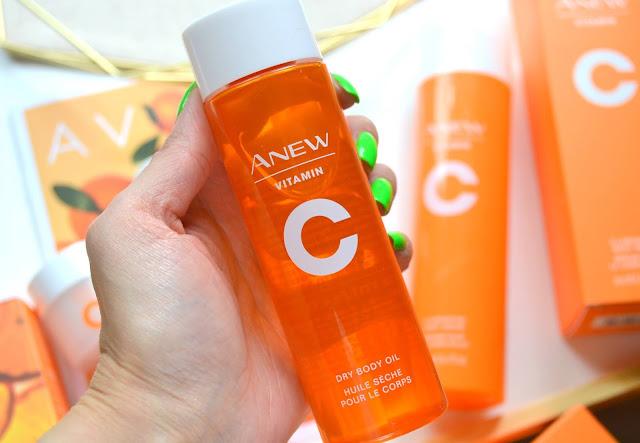Avon Anew Vitamin C Collection Dry Body Oil