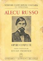 "coperta carte A. Russo ""Opere complete"", 1942"