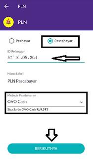 Cara membayar tagihan listrik lewat OVO