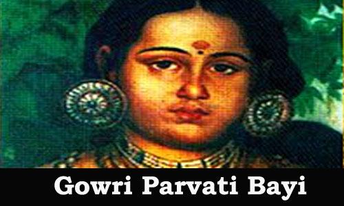 Kerala PSC - Gouri Parvathi Bayi (1815-1829)