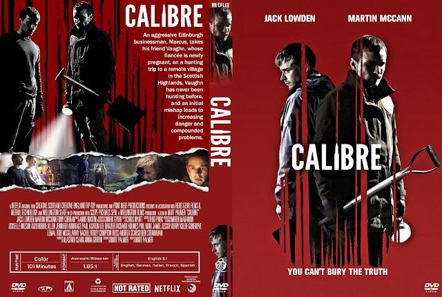 Calibre DVD Cover