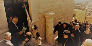 تدشين دير القديس لاونديوس للروم الملكيين الكاثوليك في معلولا بعد ترميمه