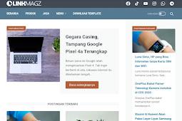 Download template linkmagz v2.5.0 yang resvonsif dan juga fast loading
