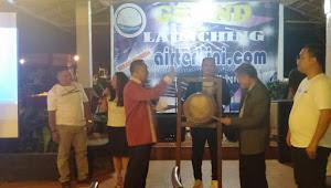Launching Airterkini.com, Bupati Torut Kala'tiku: Referensi Masyarakat Toraja