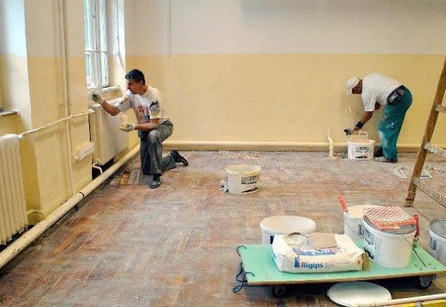 Sơn sửa lại căn hộ chung cư tại quận gò vấp
