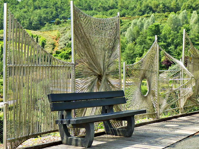 Bench or Seat at Cornwall's Eden Project