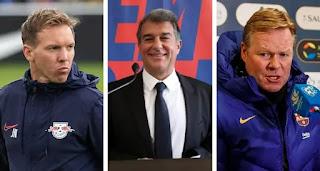 Joan Laporta makes  RB Leipzig boss as Ronald Koeman replacement