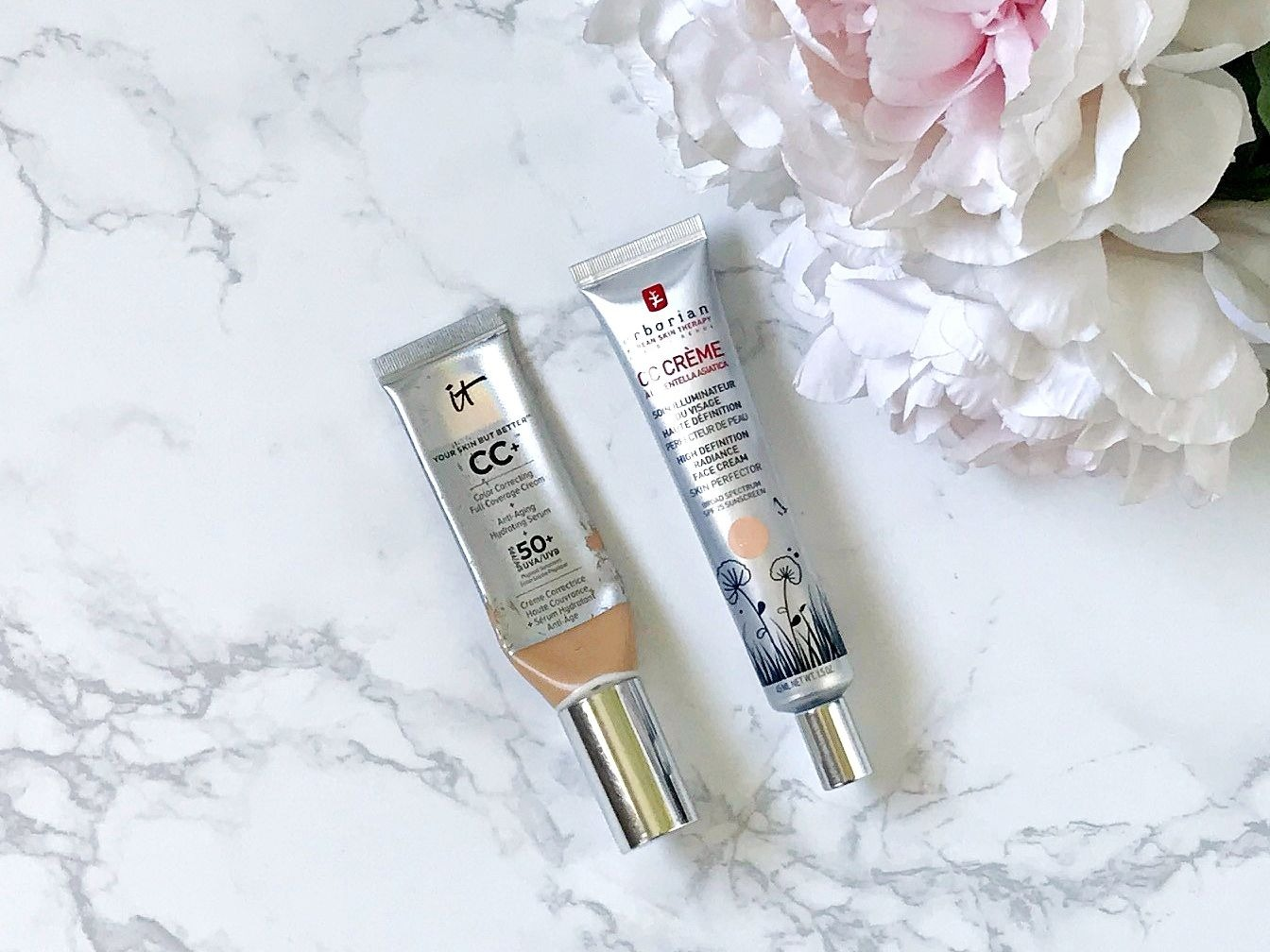 IT Cosmetics CC Cream Vs Erborian CC cream