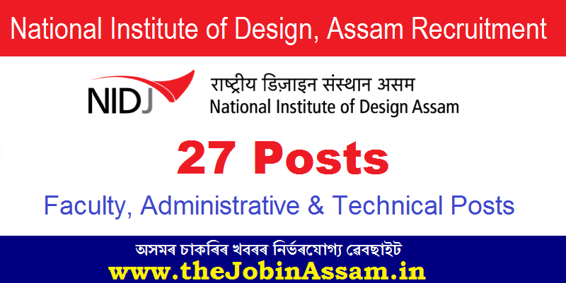 Faculty, Administrative & Technical Posts