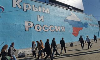 Moscow's 2014 annexation of Crimea