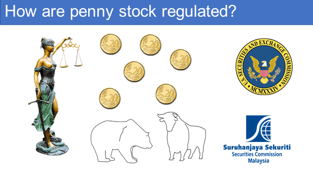 How are penny stocks regulated?