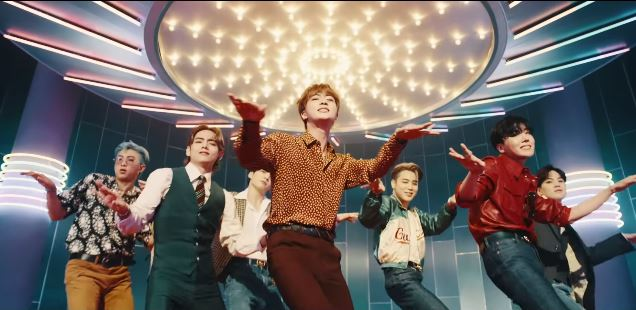 BTS 'Dynamite' breaks records